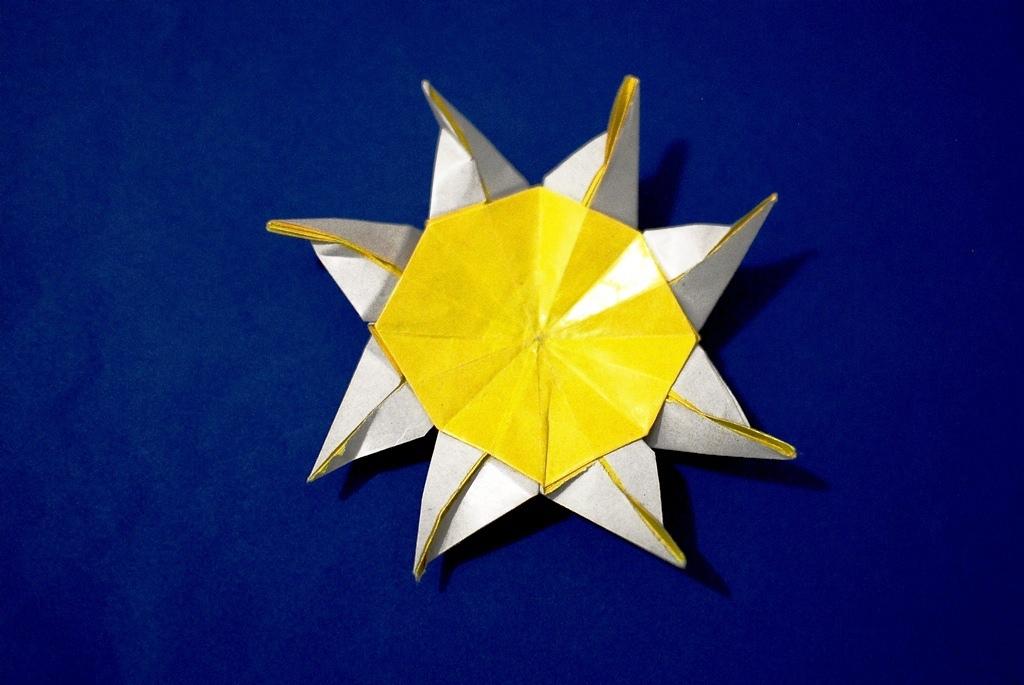 Sun Second Version Romis Origami